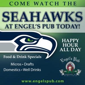 Seahawks at Engel's Pub!