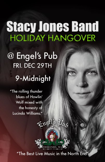 Stacy Jones band Holiday Hangover at Engel's Pub