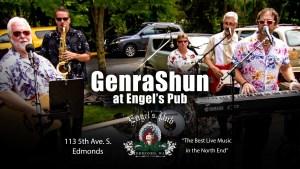 GenraShun at Engel's Pub in Edmonds