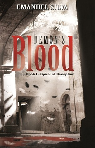 "Capa do livro ""Demon's Blood"""