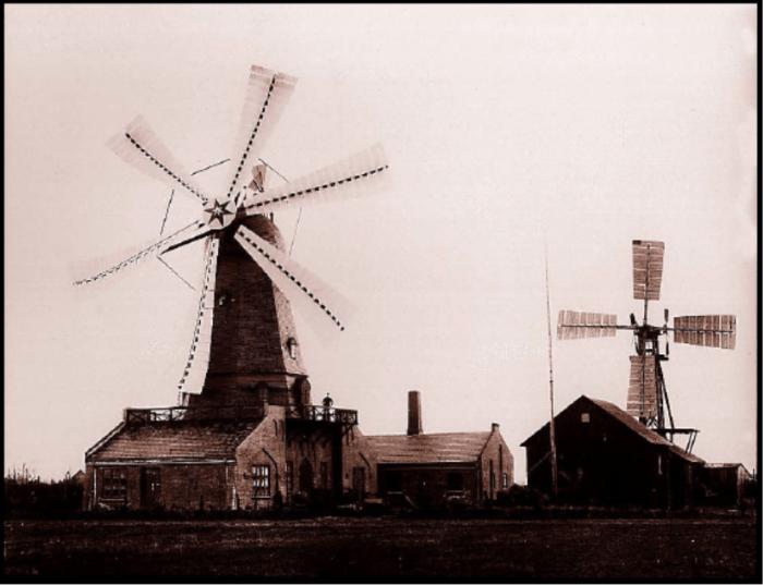 Turbina eólica de Paul de la Cour