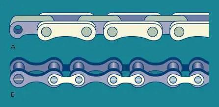 Bush roller Chains