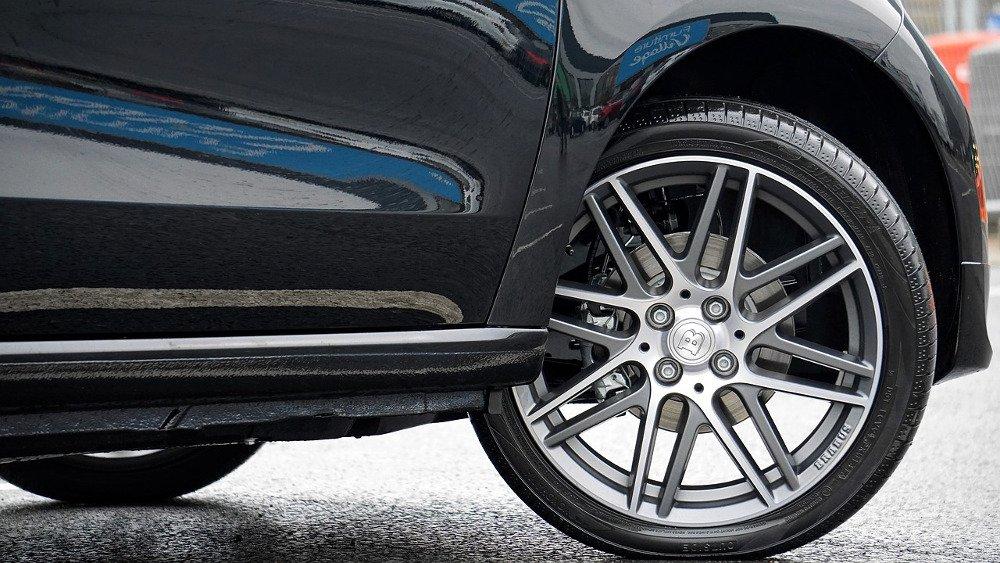 Parts of a Car Wheel