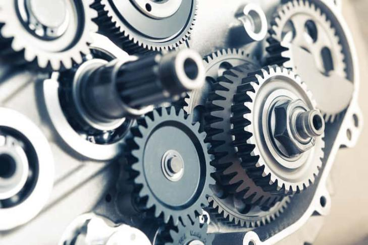A gear is a rotating circular machine part having cut teeth or, in the case of a cogwheel or gearwheel, inserted teeth (called cogs), which mesh with another toothed part to transmit torque.