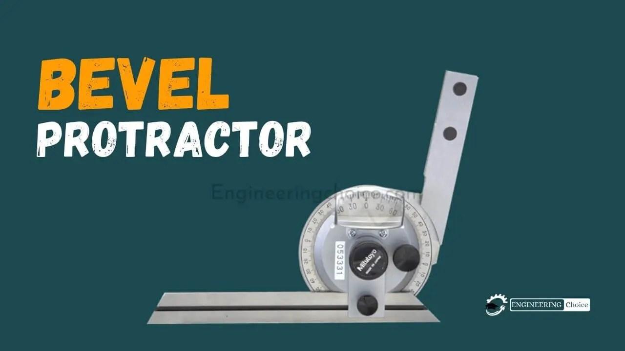 Bevel-protractor