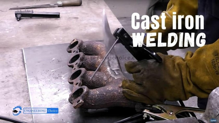 Cast iron welding is possible but problematic due to the high carbon content. This carbon content is often 2-4%, which is about ten times that of most steels.