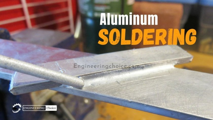 Aluminum needs heat to accept solder, usually to the tune of 300°C or more. Aluminum is a great heat sink, so the heat source will need to be even higher to get the aluminum up to the right temperature. Soldering aluminum is not like soldering copper; it's not enough to just heat up and melt the solder.