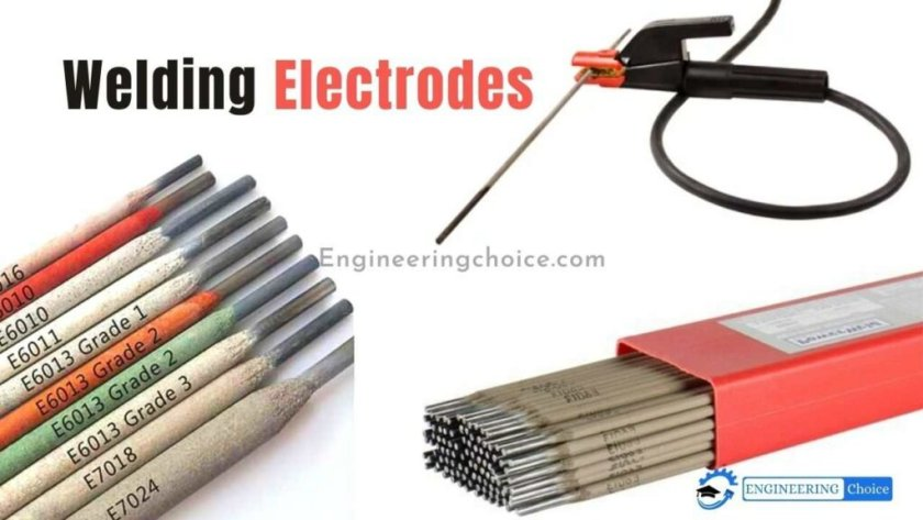 An Welding electrode is a coated metal wire. It is made of materials similar to the metal being welded.