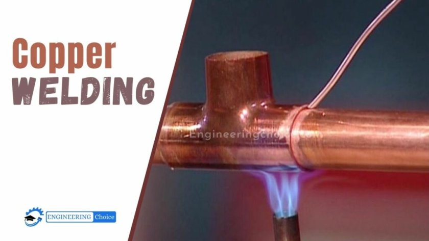 Copper welding is not hard. The heat required for this type of welding is approximately twice that required for steel of similar thickness.