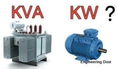 transformer-in-kva-motor-in-kw-why