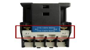 Contactor-Coil-A1-A2-supply-voltage