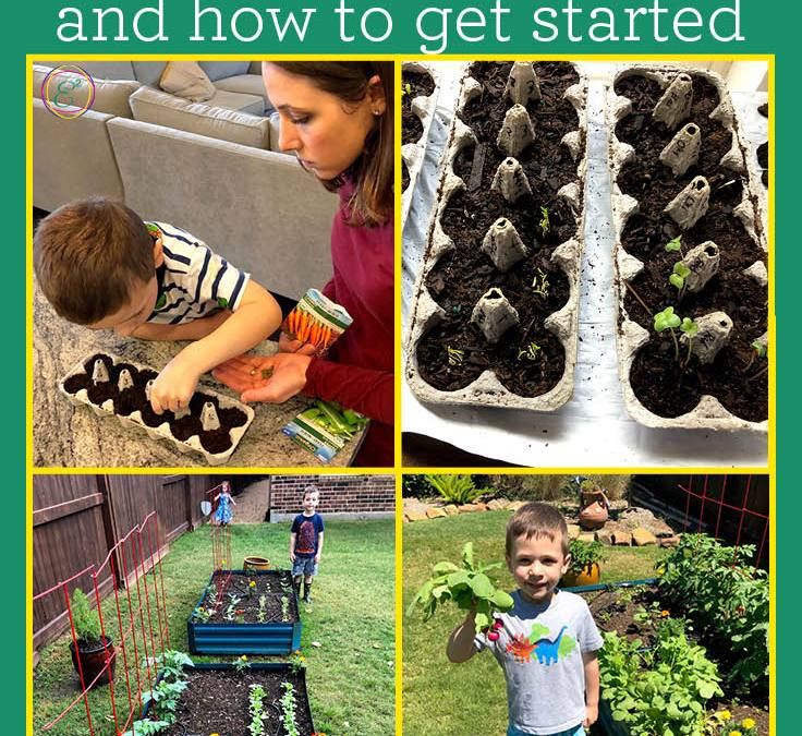 7 Benefits to Growing a Backyard Garden with Kids and How to Get Started Today!