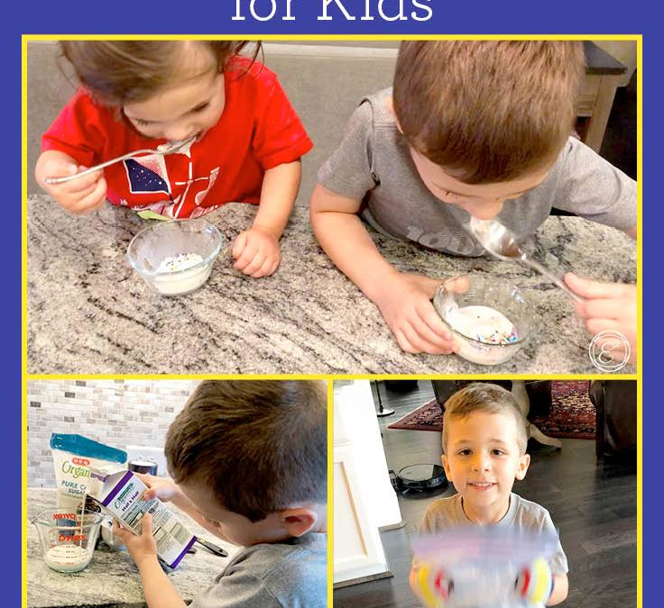 Homemade Ice Cream in a Bag | STEAM Experiment for Kids