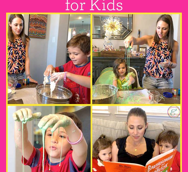 Make Your Own Oobleck | STEAM Experiment for Kids