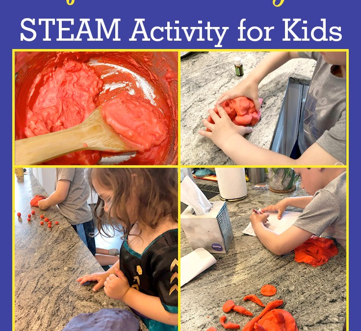 Homemade Play-Dough for STEAM Play | STEAM Activity for Kids