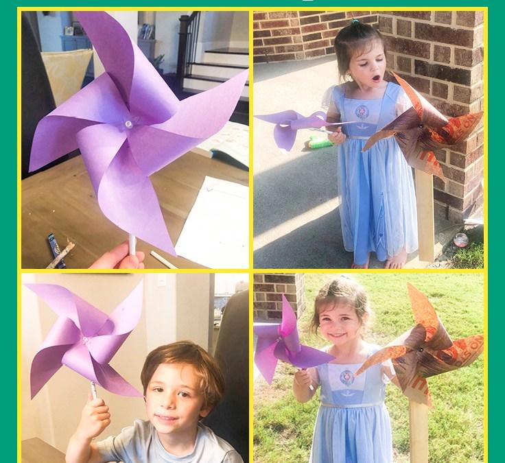 Make a Pinwheel   STEAM Activity for Kids