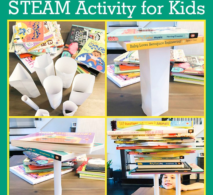 How Many Books Can One Piece of Paper Hold? | STEAM Activity for Kids