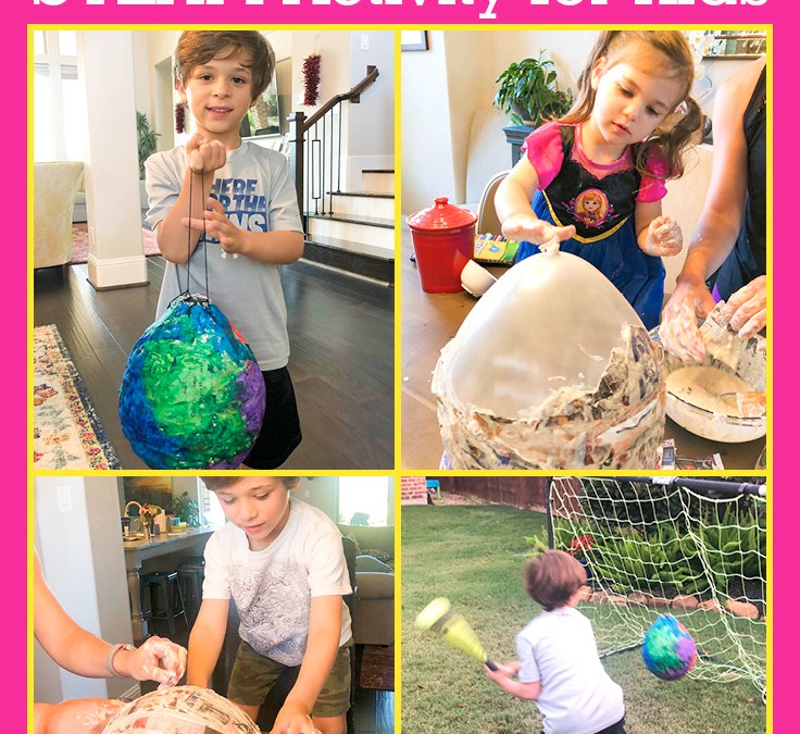 Make a Piñata | STEAM Activity for Kids