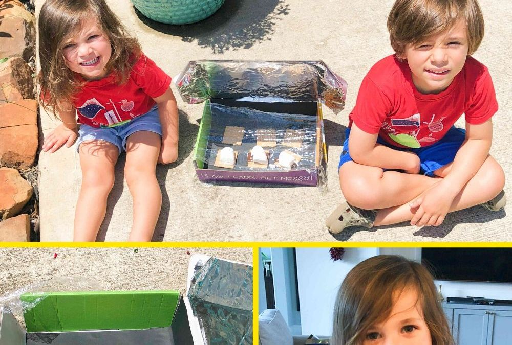 Make S'mores in a Solar Oven | STEAM Activity for Kids
