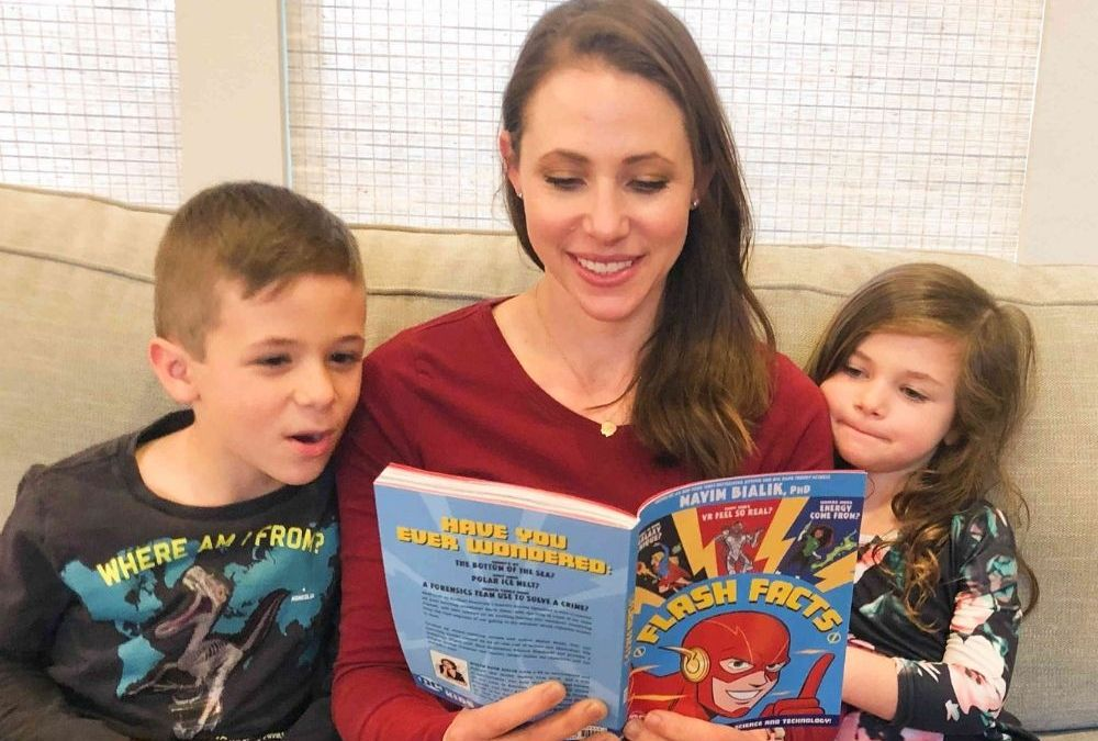 Flash Facts – DC Graphic Novel Edited by Mayim Bialik, PhD | STEAM Children's Book Review