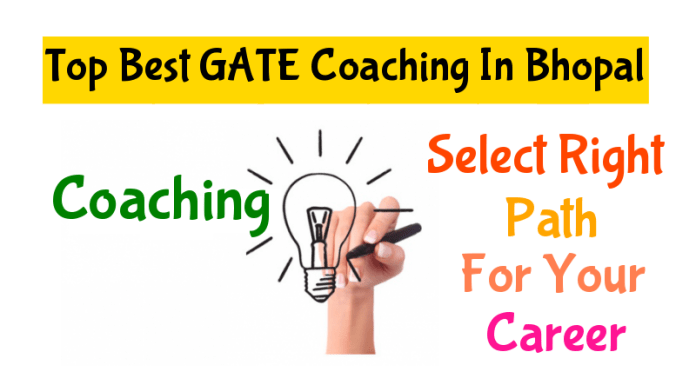 List of Top Best GATE Coaching In Bhopal