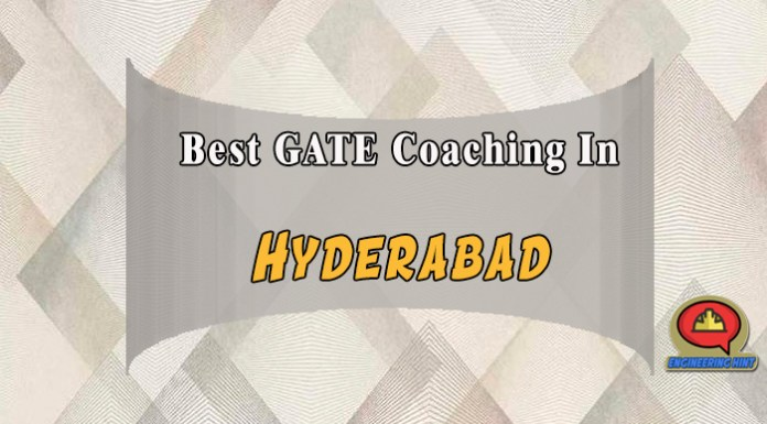List Of Top 10 Best Gate Coaching In Hyderabad