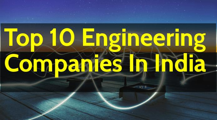 Top 10 Engineering Companies In India