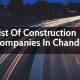 List Of Construction Companies In Chandigarh