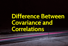 Difference Between Covariance and Correlations