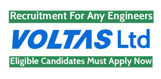 Voltas Limited Recruitment For Any Engineers Eligible Candidates Must Apply Now
