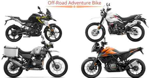 off-road adventure bike