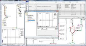 """Der """"Advanced Typical Manager"""" ist ein Add-on für die Engineering Base zur Variantenkonstruktion (Bild Aucotec)."""