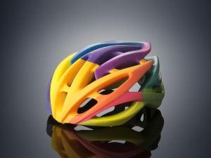 Ein Teil, mehrere Farben - 3D-Drucker können das, aber wie überträgt man solche Modelle an den Drucker (Bild: Stratasys).