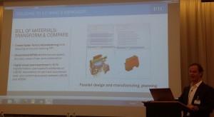 Kevin Wrenn präsentierte Windchill 11 in einer sehr informativen Session der Presse.