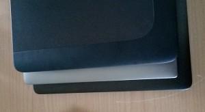 Der geringe Größenunterschied zwischen dem 14-Zöller und dem 15,6-Zoll-Dell-Ultrabook ist verblüffend.