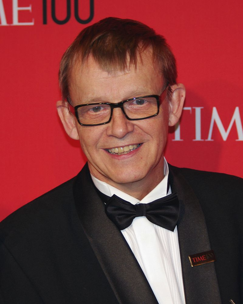Prof. Hans Rosling (Bild: David Shankbone CC BY 3.0)