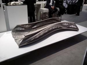 3D-gedruckte Brücke von MX3D auf dem HMI-Stand von Autodesk