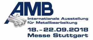 AMB 2018 - Internationale Ausstellung für Metallbearbeitung @ Messegelände Stuttgart | Stuttgart | Baden-Württemberg | Deutschland