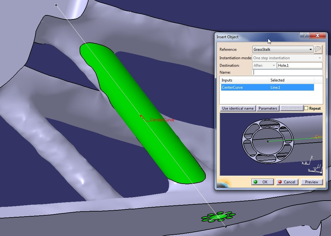 Cenit: Bionische Features in CAD-Modelle integrieren