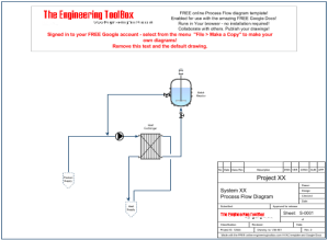 PFD  Process Flow Diagram  Online Drawing Tool