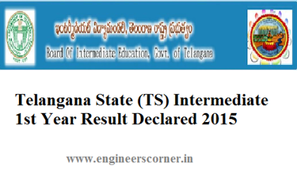 Telangana BIE AP INtermediate Result Declared 2015