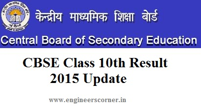 CBSE Class 10th Result 2015