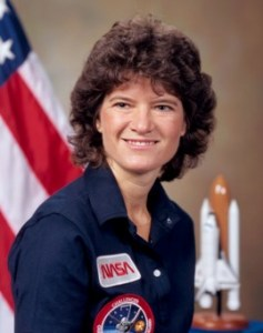 Official File Photo of Sally Ride. Source: Wikipedia