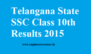 Telangana SSC class 10thh result