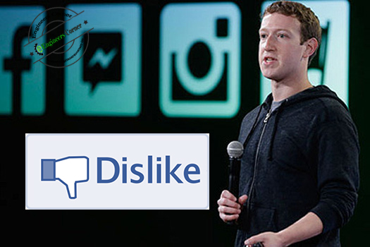 facebook dislike button news mark zuckerberg