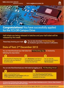 TCS Admit Card