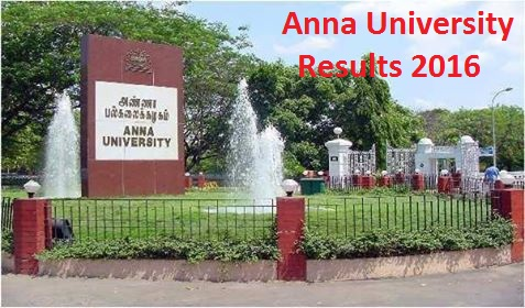 Anna University Results 2016 - UG/PG Nov-Dec 2015