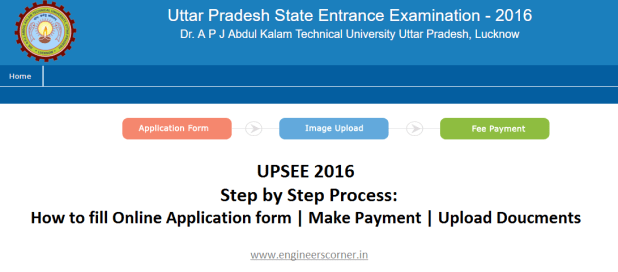 UPSEE 2016 Application form