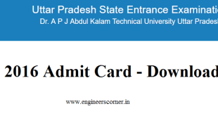 Download UPSEE Admit Card 2016
