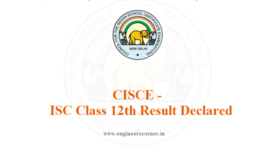 CISCE ISC Class 12th result 2016